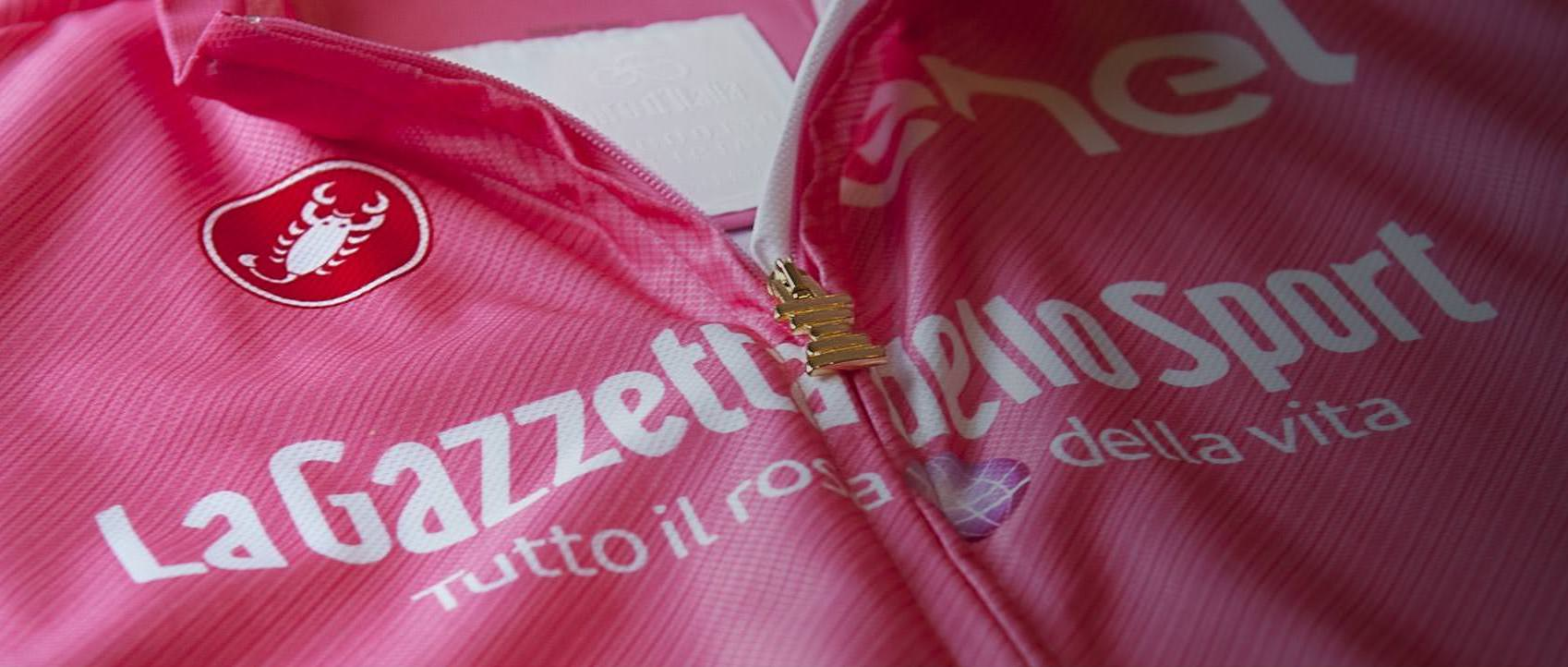 The Giro brings out the pinkness in all Cyclists